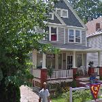 Jerry Siegel's former house (StreetView)