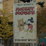 "Mickey Mouse in ""Steamboat Willie"" (StreetView)"