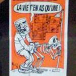 """""""La vie, t'en as qu'une !"""" poster"""