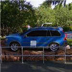 Volvo station wagon (made of Lego) (StreetView)