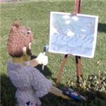 Lego artist (StreetView)