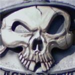 Pirate skull (StreetView)