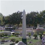 Lego Washington Monument (StreetView)