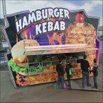 Hamburger Kebab Stand