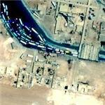 Syria / Iraq border crossing (Google Maps)