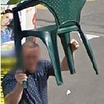 Chair Attack (StreetView)