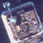 Sea-based X-band Radar platform under-construction (Google Maps)