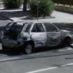 Burned Car