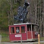 Wetterhorn aerial tramway cabin