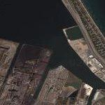 Hamilton harbour & Burlington Skyway (Google Maps)