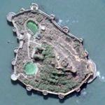 Murud-Janjira fort (Google Maps)