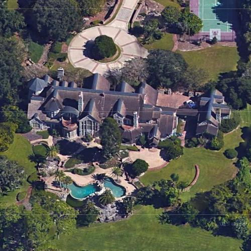 Frank Viola's house (Former) in Orlando, FL (Google Maps)