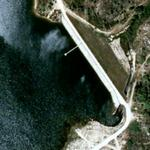 Alfaiates Dam (Google Maps)