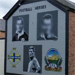 Northern Ireland Football Heros mural