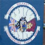 'Conquerors Flute Band' mural (StreetView)