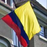Colombian flag (StreetView)