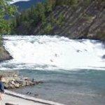 Bow Falls (StreetView)