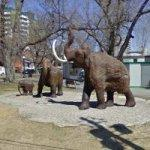 Mammoth Statues