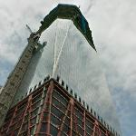 1 World Trade Center under construction