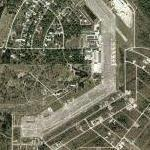 Remains of Buckingham Air Force Base (Google Maps)