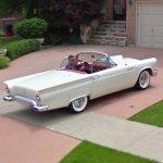 1957 Ford Thunderbird convertible (StreetView)