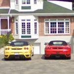 Two Ferrari F430 Spiders (StreetView)