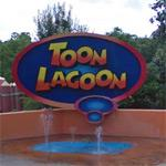 Toon Lagoon Sign