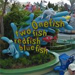 'One fish, two fish, red fish, blue fish' (StreetView)