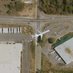 Airplane taking off from Hartsfield-Jackson 3 (Google Maps)