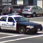 Santa Monica Police Car