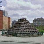 Seagram Barrel Pyramid