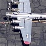"""Aluminum Overcast"" B-17G Flying Fortress (Google Maps)"