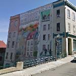 Street Scene Mural