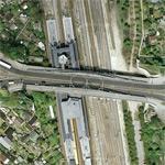 Former border crossing Bornholmer Straße (Google Maps)
