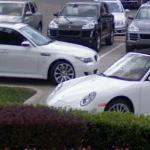 Porsche and BMW M5 (StreetView)