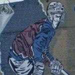 Avalanche hockey mural