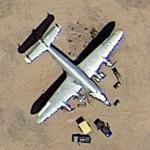 "President Eisenhower's ""Columbine II"" - 1st Air Force One (Google Maps)"