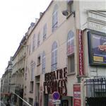 Trompe l'oeil facade on Saint-Georges Theatre