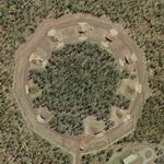 Ammunition storage bunkers (Google Maps)