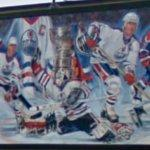 Edmonton Oilers mural