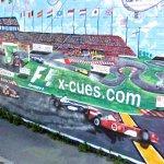 Formula One Racing mural
