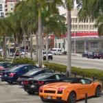 BMW M5, Porsche, Chevrolet Corvette and Lamborghini Gallardo (StreetView)