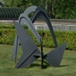 'Three Arches' by Alexander Calder (StreetView)