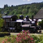1927 Shay locomotive (StreetView)