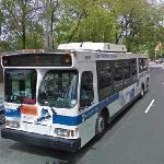 Clean Air Hybrid Electric Bus (StreetView)