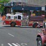 FDNY Engine 40 heading out on a call