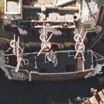 Treasure Island Pirate Battle (Google Maps)