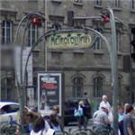 Original Art Nouveau entrance to the Paris Metro