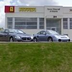 Porsche 996 GT2 & Maserati Quattroporte (StreetView)
