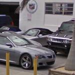Hummer H2 and BMW 6 series